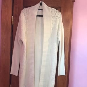 Calvin Klein Long Cable Knit Sweater Small